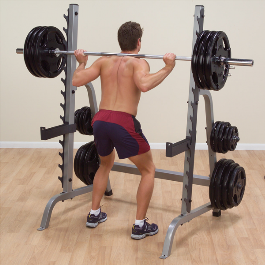 "Body-Solid Multi-Press-Rack ""Deluxe"" GPR-370"
