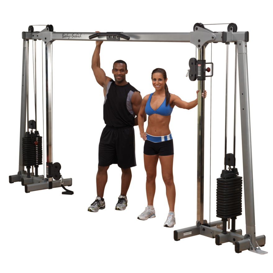 "Body-Solid Functional Training Center / Multi-Kabelzug ""Studio"" GDCC-250"