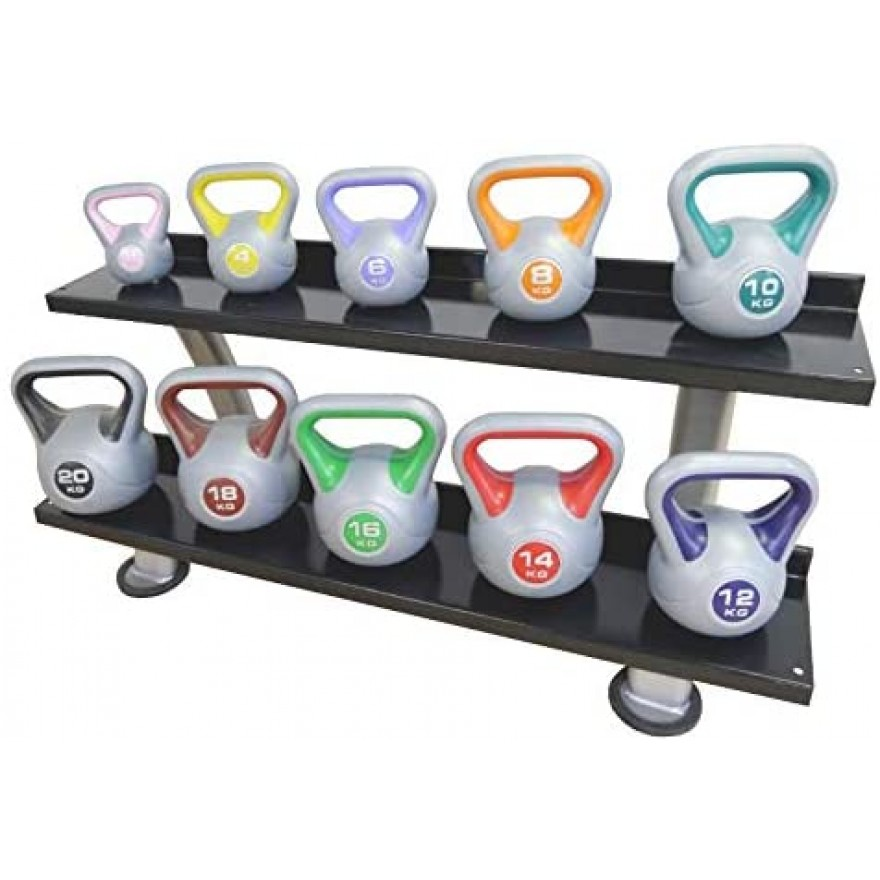 POWER-EXTREME Kettlebell, Kunststoff
