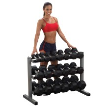 Body-Solid All in One Hantelablage GDR-363, 3-lagig